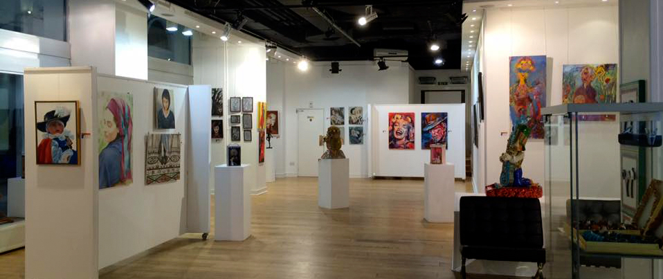 "exhibition ""Woman's World"" at La Galleria Pall Mall in London"