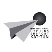 International Hyphens support KAT-TUN logo